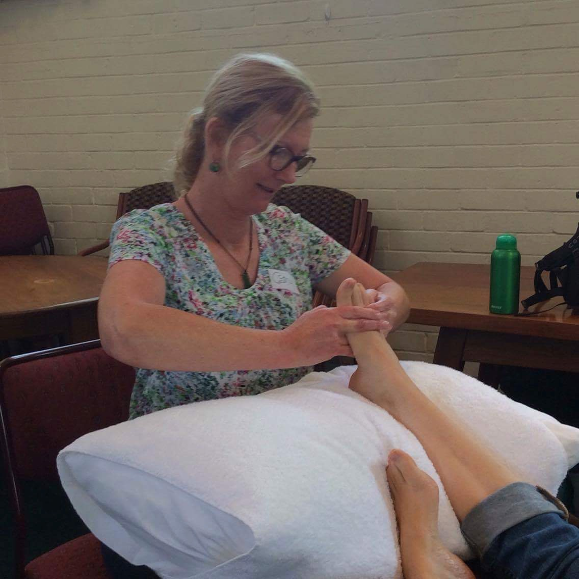 Cathy's style of Reflexology